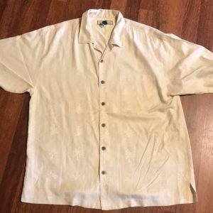 Tommy Bahama 100% Silk Shirt Size L